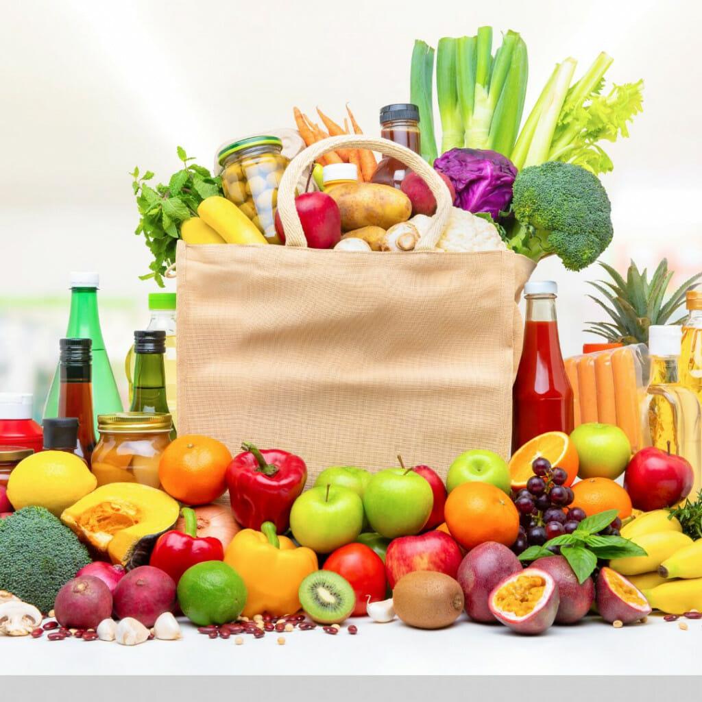 Food shopping - Money